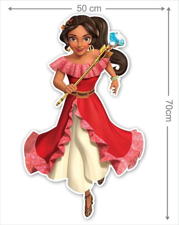 Adesivo Decorativo Princesas 0019  - Paredes Decoradas