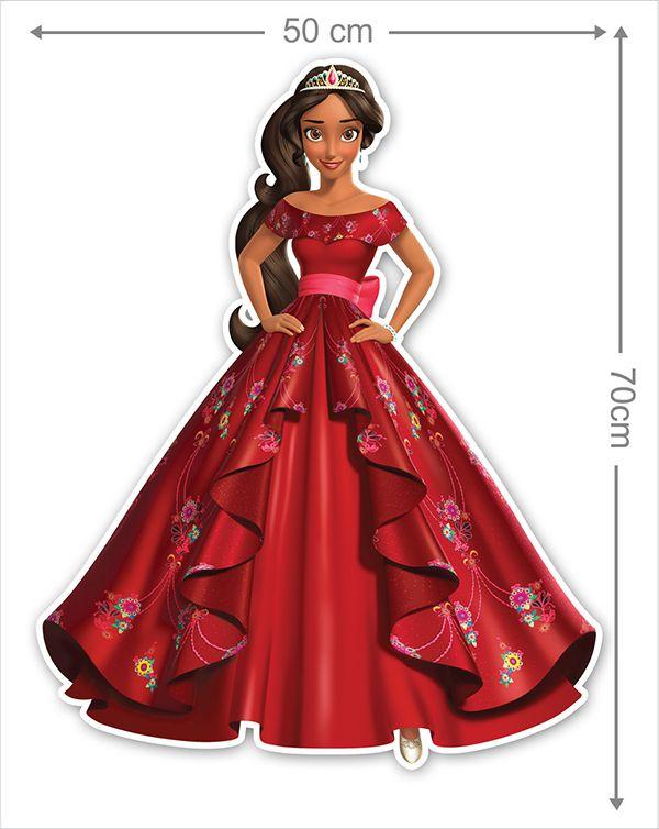 Adesivo Decorativo Princesas 0022
