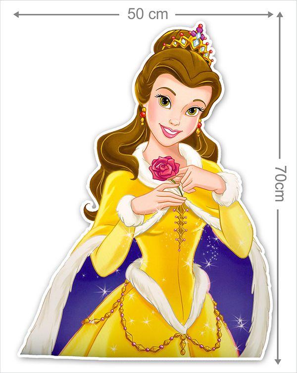Adesivo Decorativo Princesas 0026  - Paredes Decoradas