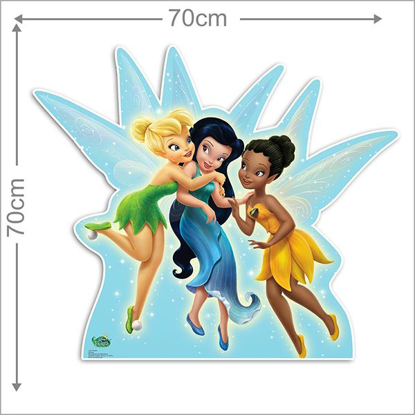 Adesivo Decorativo Tinkerbell 0008  - Paredes Decoradas