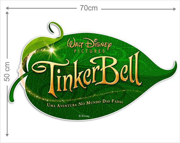 Adesivo Decorativo Tinkerbell 0015  - Paredes Decoradas