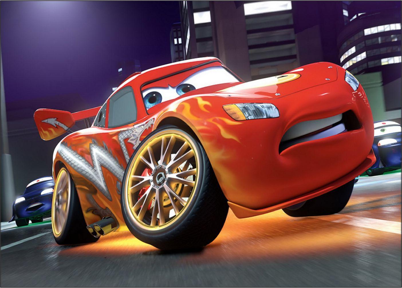 Pape de Parede 3D Carros  0001 - Papel de Parede para Quarto   - Paredes Decoradas