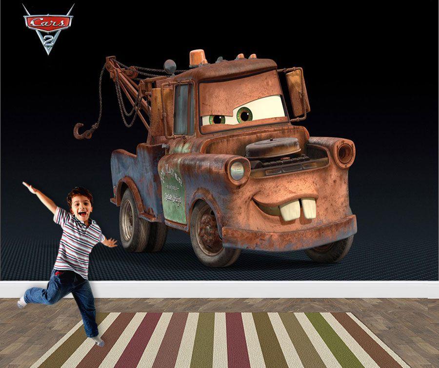 Pape de Parede 3D Carros  0015 - Papel de Parede para Quarto