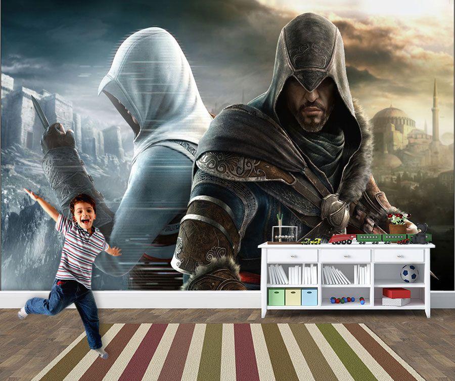 Papel de Parede 3D Games 0015 - Papel de Parede Para Quarto