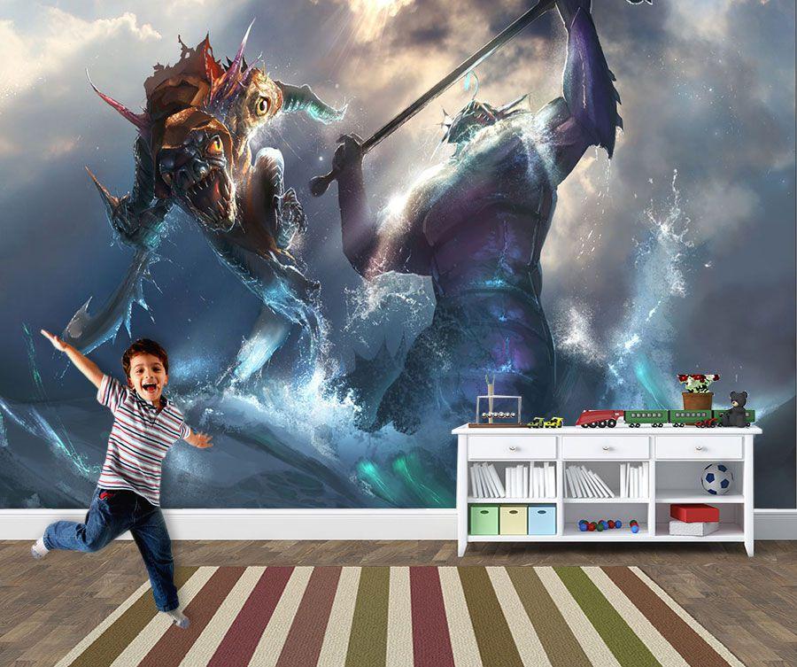 Papel de Parede 3D Games 0028 - Papel de Parede Para Quarto