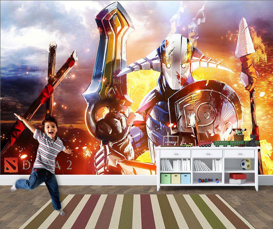 Papel de Parede 3D Games 0034 - Papel de Parede Para Quarto