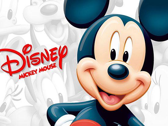 Papel de Parede 3D Mickey 0007 - Papel de Parede para Quarto   - Paredes Decoradas