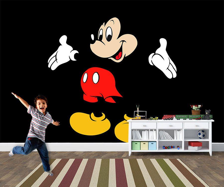 Papel de Parede 3D Mickey 0010 - Papel de Parede para Quarto