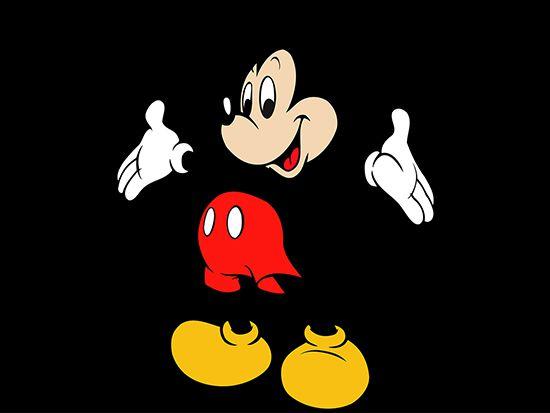 Papel de Parede 3D Mickey 0010 - Papel de Parede para Quarto   - Paredes Decoradas