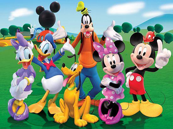 Papel de Parede 3D Mickey 0012 - Papel de Parede para Quarto   - Paredes Decoradas