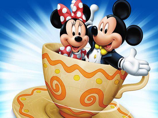 Papel de Parede 3D Mickey 0014 - Papel de Parede para Quarto   - Paredes Decoradas