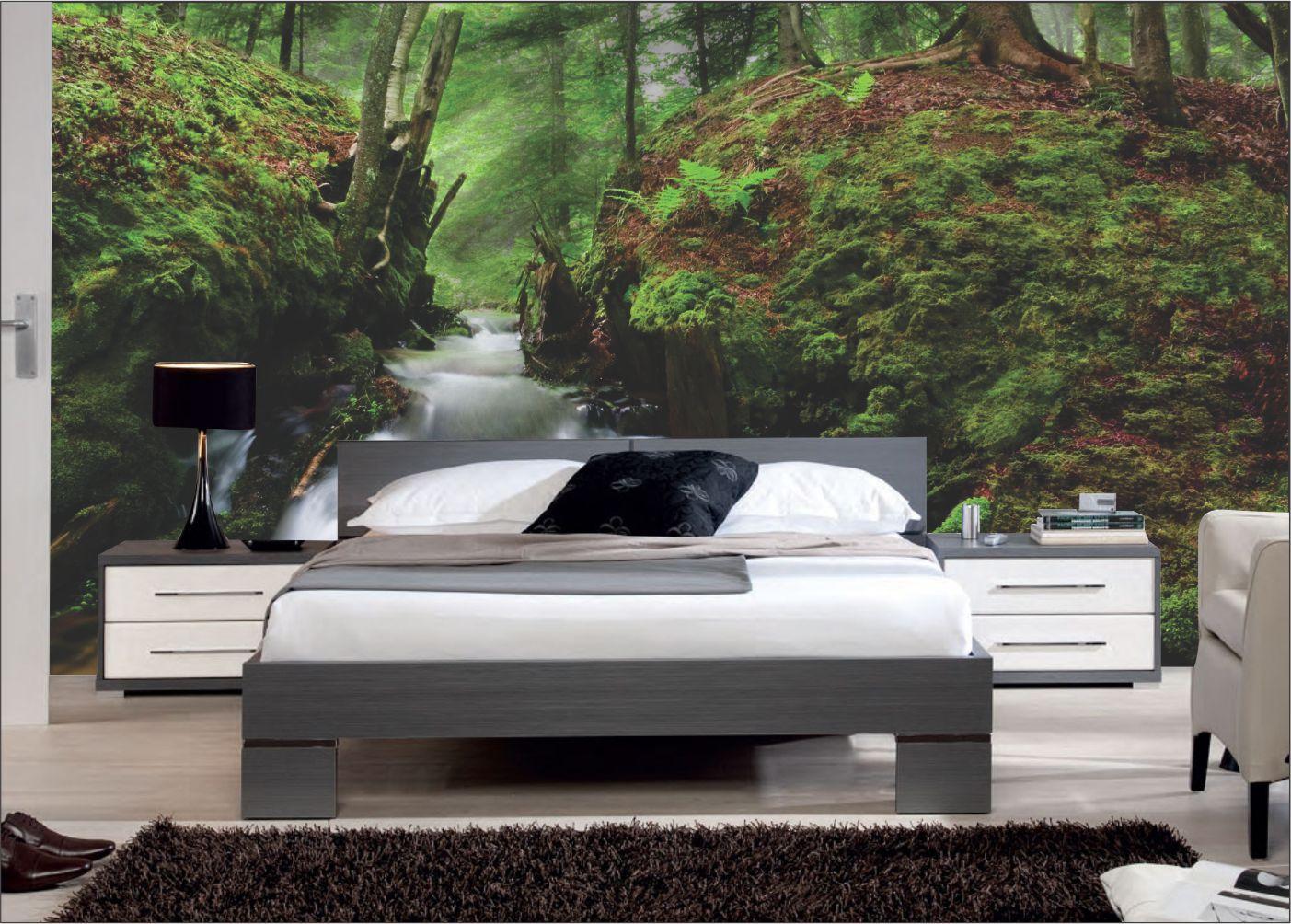 Papel De Parede 3D | Cachoeiras 0006 - papel de parede paisagem  - Paredes Decoradas