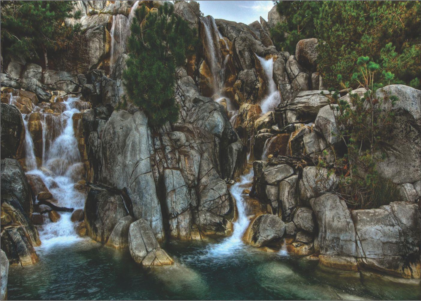Papel De Parede 3D | Cachoeiras 0007 - papel de parede paisagem  - Paredes Decoradas