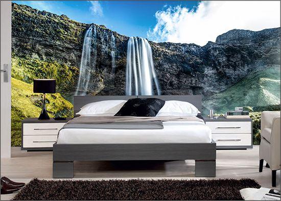 Papel De Parede 3D | Cachoeiras 0018 - papel de parede paisagem  - Paredes Decoradas