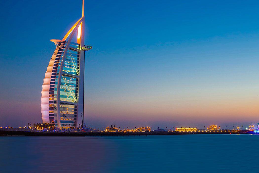 Papel De Parede 3D | Cidades Dubai 0002 - Adesivo de Parede