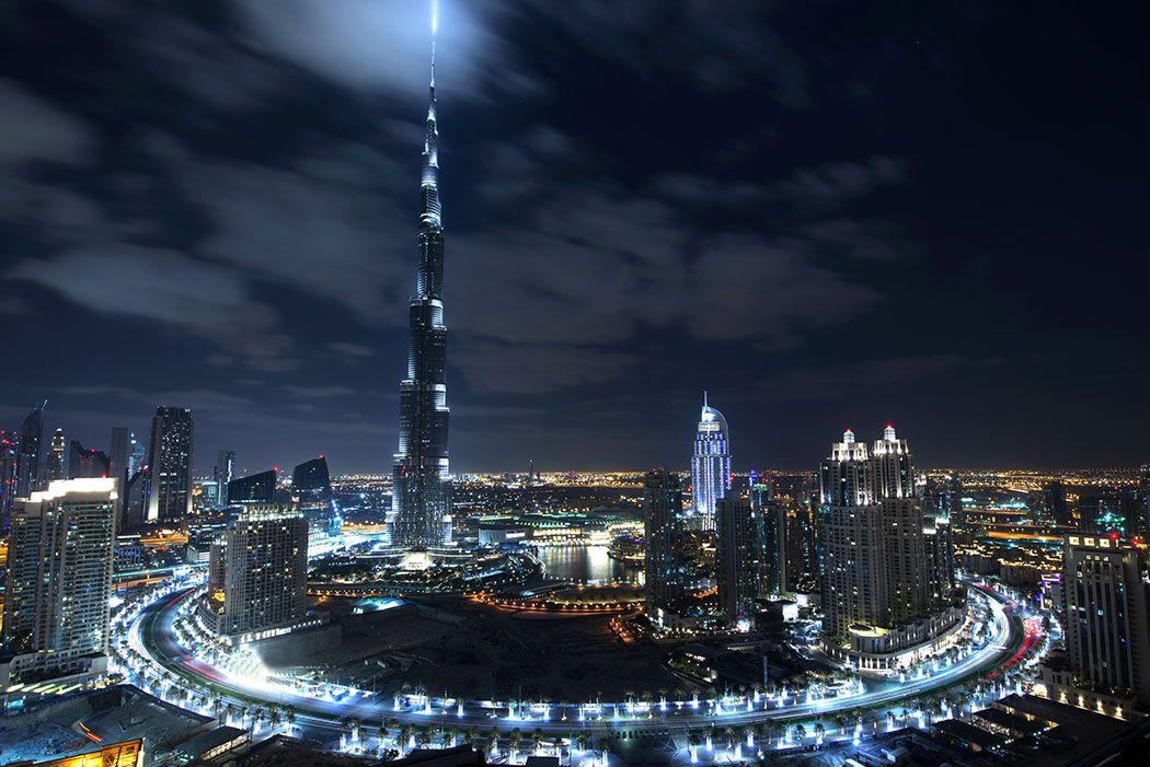 Papel De Parede 3D | Cidades Dubai 0003 - Adesivo de Parede  - Paredes Decoradas