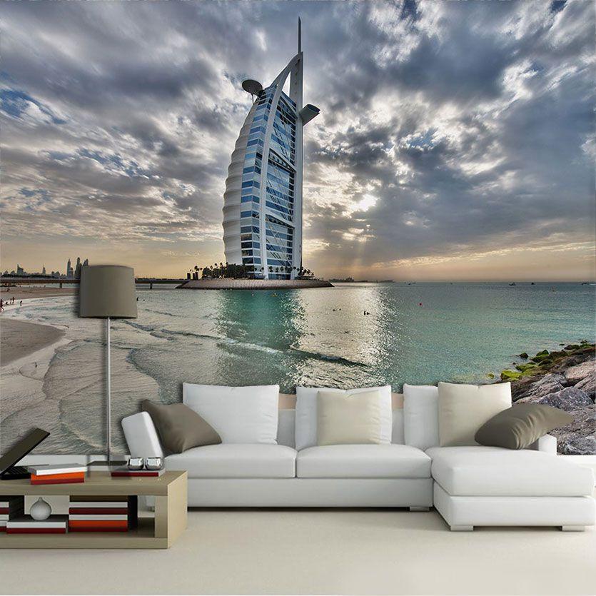 Papel De Parede 3D | Cidades Dubai 0005 - Sobmedida: m²