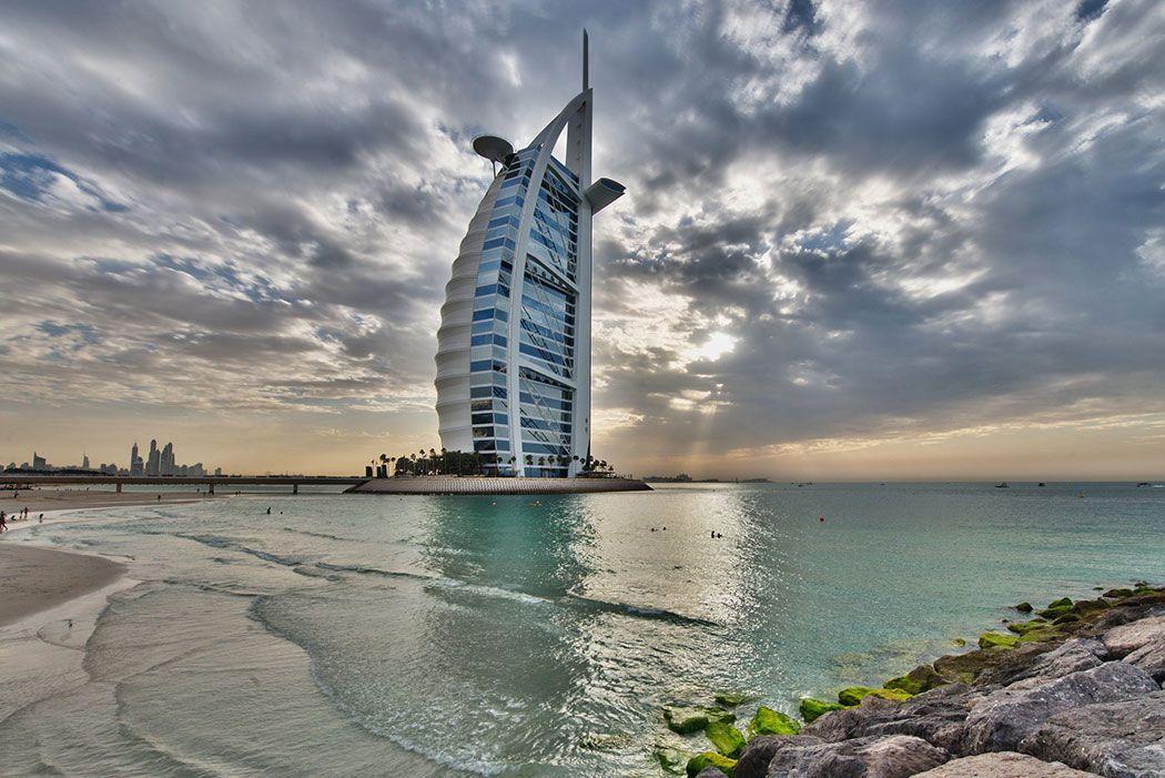 Papel De Parede 3D | Cidades Dubai 0005 - Sobmedida: m²   - Paredes Decoradas
