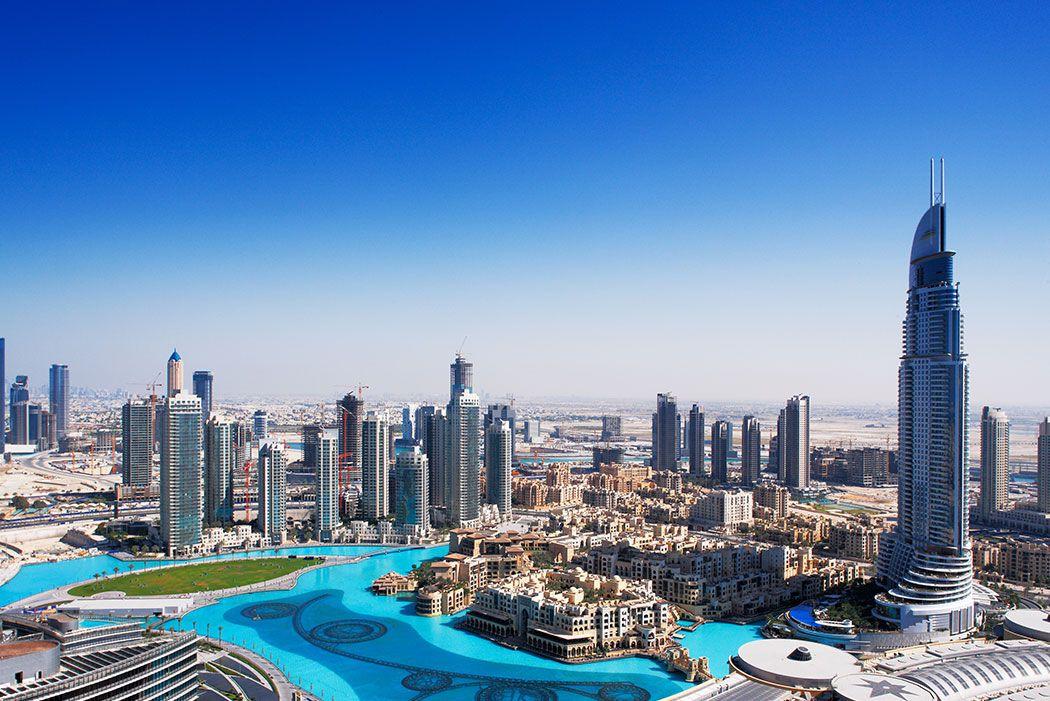 Papel De Parede 3D | Cidades Dubai 0007 - Sobmedida: m²   - Paredes Decoradas