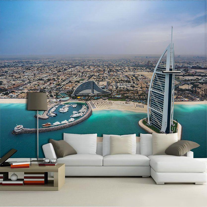 Papel De Parede 3D | Cidades Dubai 0008 - Adesivo de Parede