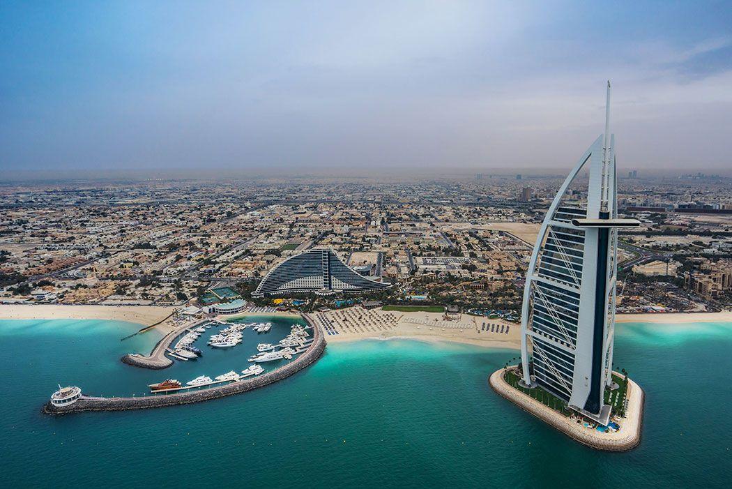 Papel De Parede 3D | Cidades Dubai 0008 - Adesivo de Parede  - Paredes Decoradas