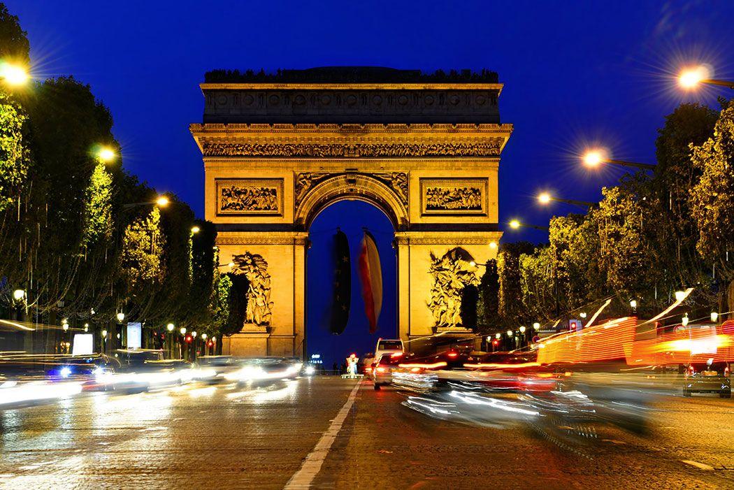 Papel De Parede 3D | Cidades França 0001 - Adesivo de Parede  - Paredes Decoradas