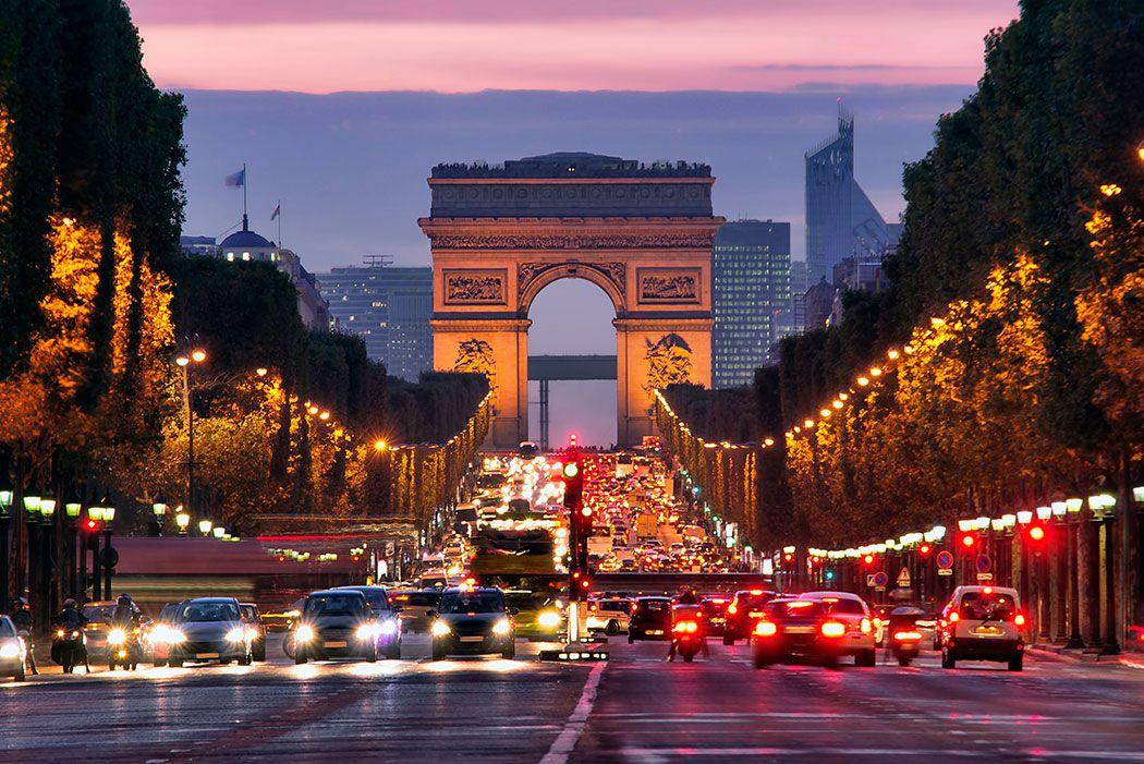 Papel De Parede 3D | Cidades França 0004 - Adesivo de Parede  - Paredes Decoradas
