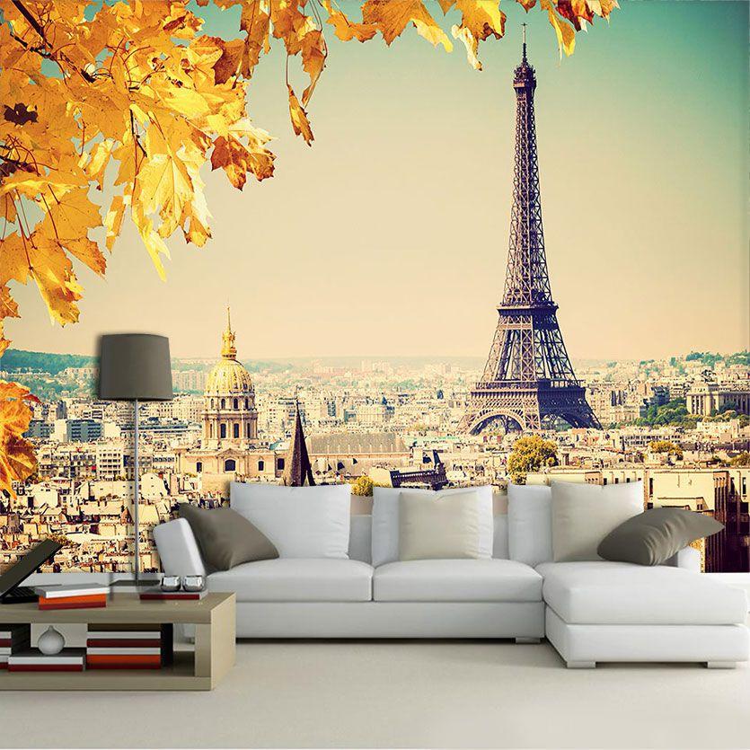 Papel De Parede 3D | Cidades França 0008 - Adesivo de Parede