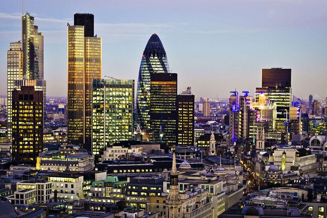 Papel De Parede 3D | Cidades Inglaterra 0001 - Adesivo de Parede  - Paredes Decoradas
