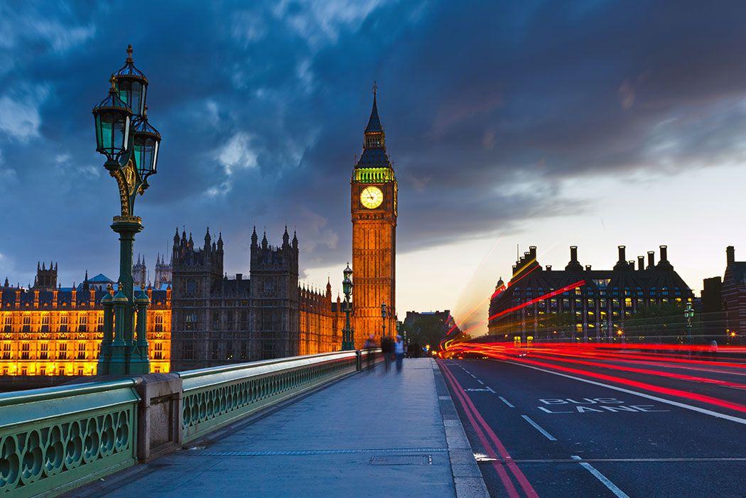 Papel De Parede 3D | Cidades Inglaterra 0005 - Adesivo de Parede  - Paredes Decoradas