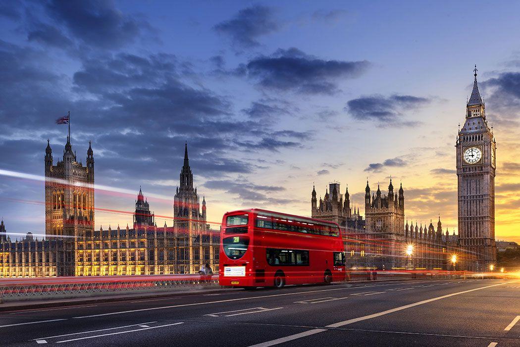 Papel De Parede 3D   Cidades Inglaterra 0007 - Adesivo de Parede  - Paredes Decoradas