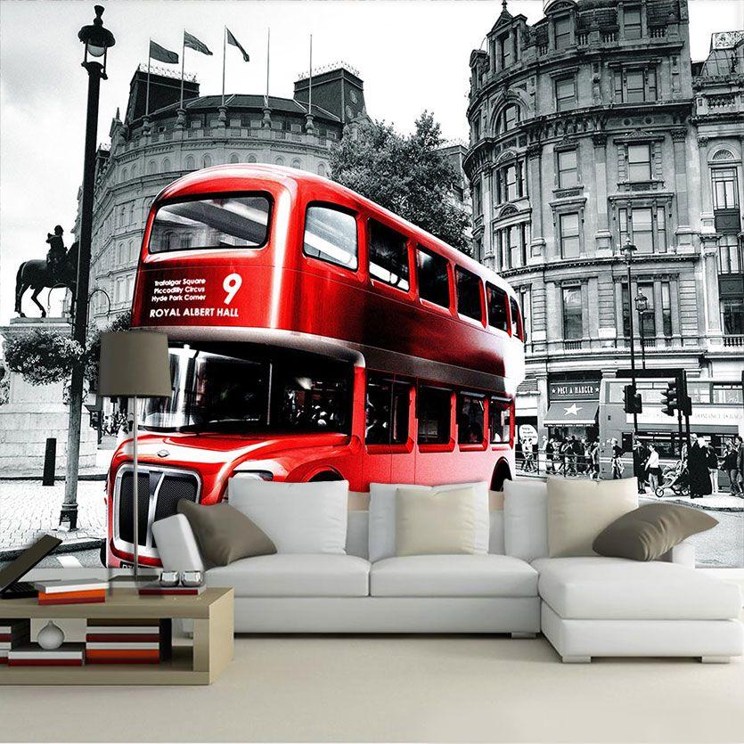 Papel De Parede 3D | Cidades Inglaterra 0008 - Adesivo de Parede