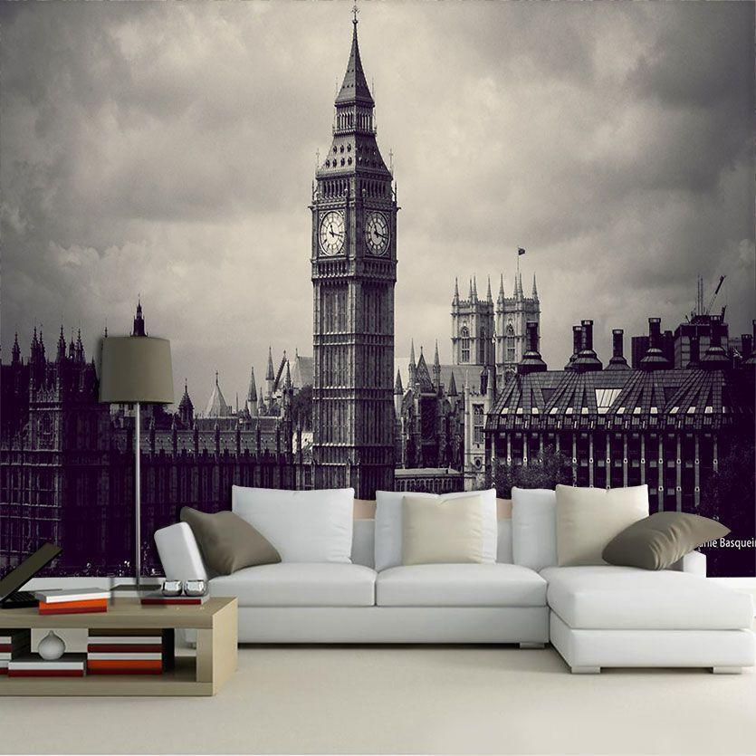 Papel De Parede 3D | Cidades Inglaterra 0009 - Adesivo de Parede