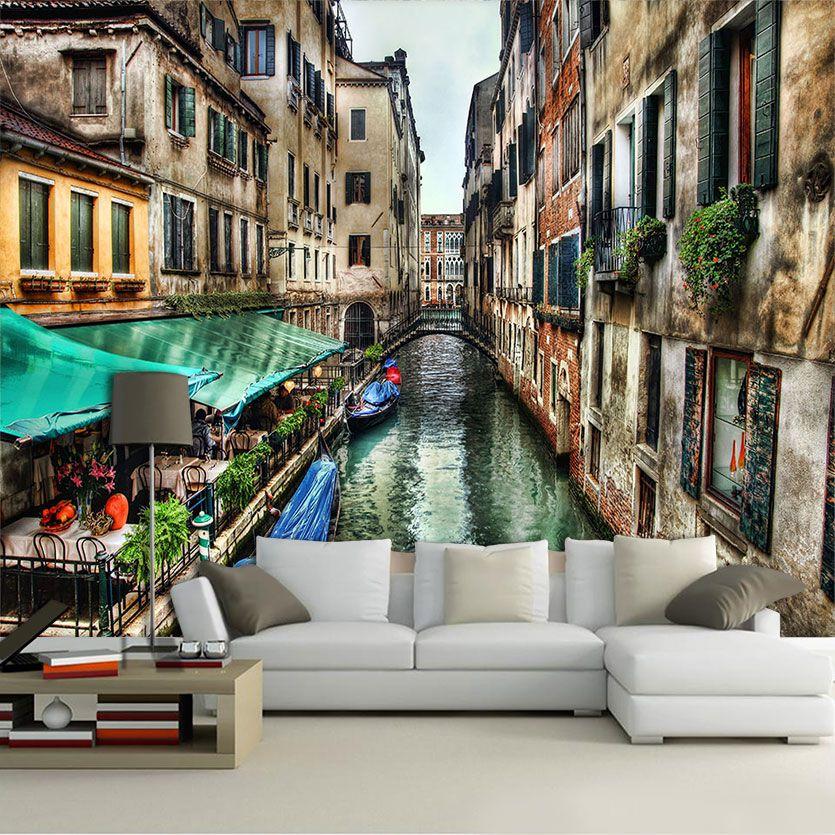 Papel De Parede 3D | Cidades Itália 0001 - Adesivo de Parede