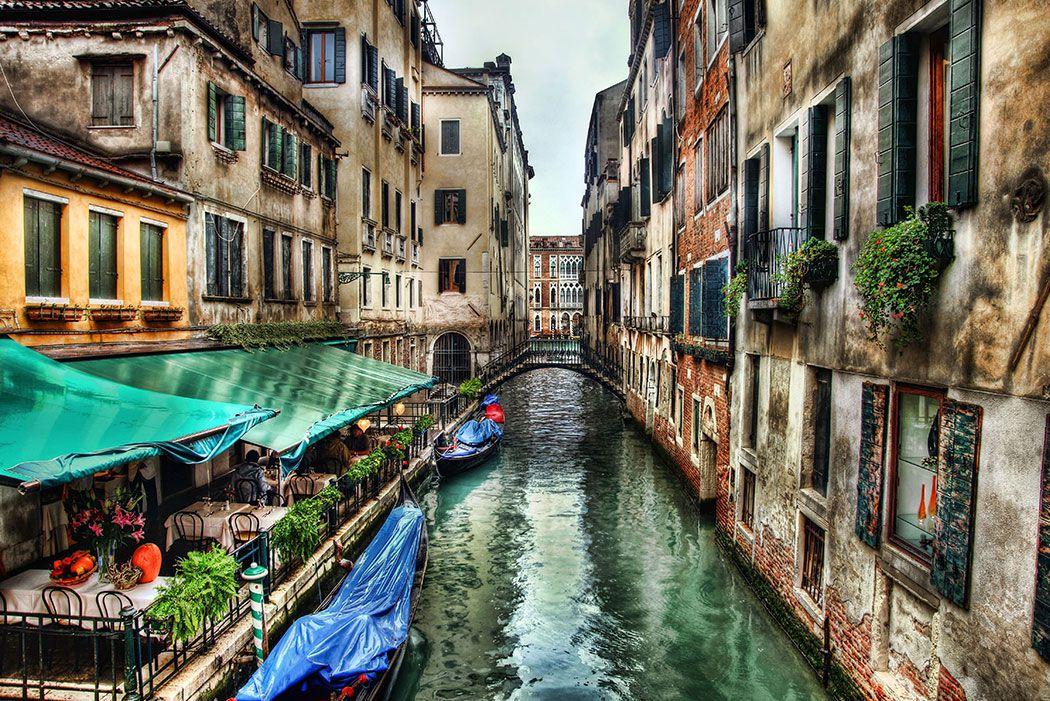 Papel De Parede 3D | Cidades Itália 0001 - Adesivo de Parede  - Paredes Decoradas