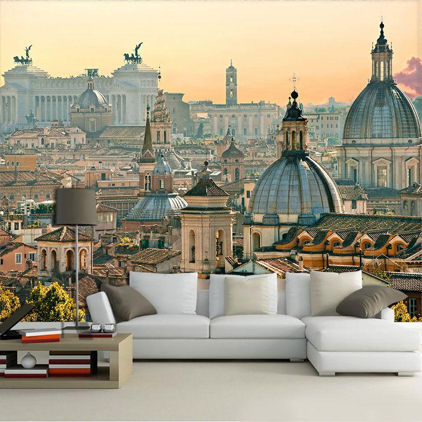 Papel De Parede 3D | Cidades Itália 0002 - Adesivo de Parede
