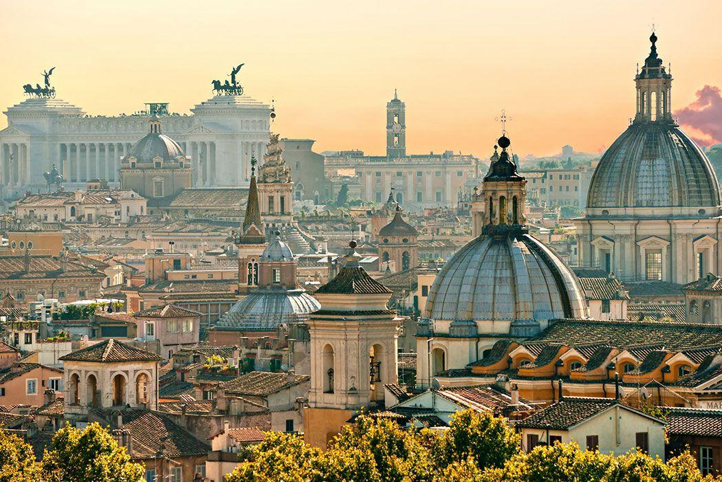 Papel De Parede 3D | Cidades Itália 0002 - Adesivo de Parede  - Paredes Decoradas