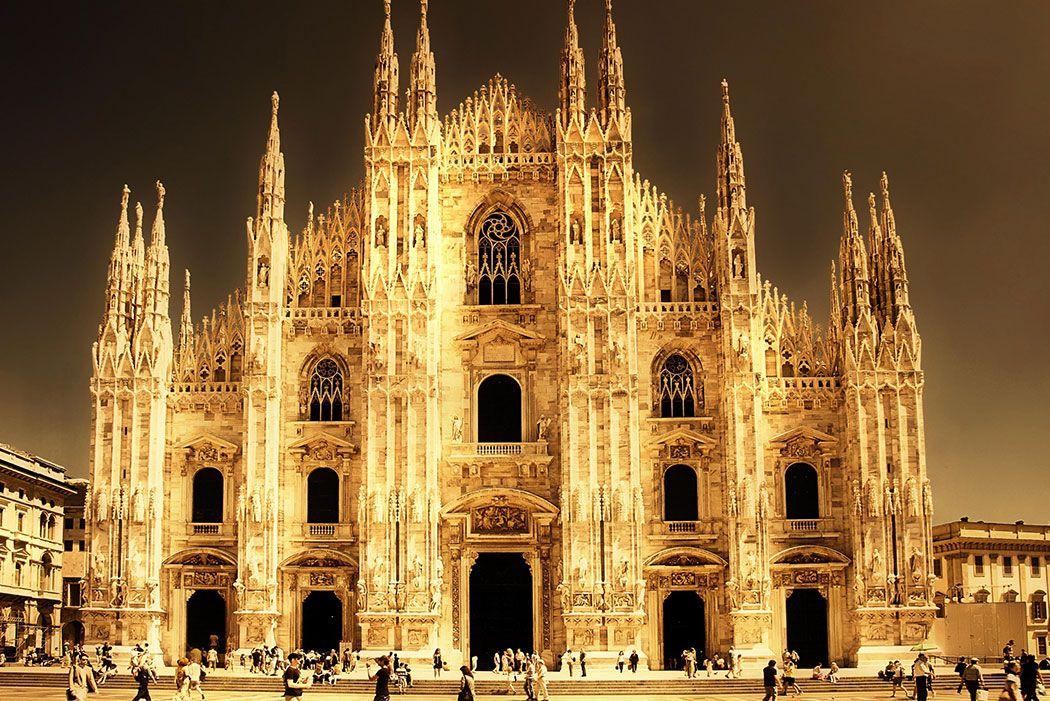 Papel De Parede 3D | Cidades Itália 0006 - Papel de Parede para Sala  - Paredes Decoradas