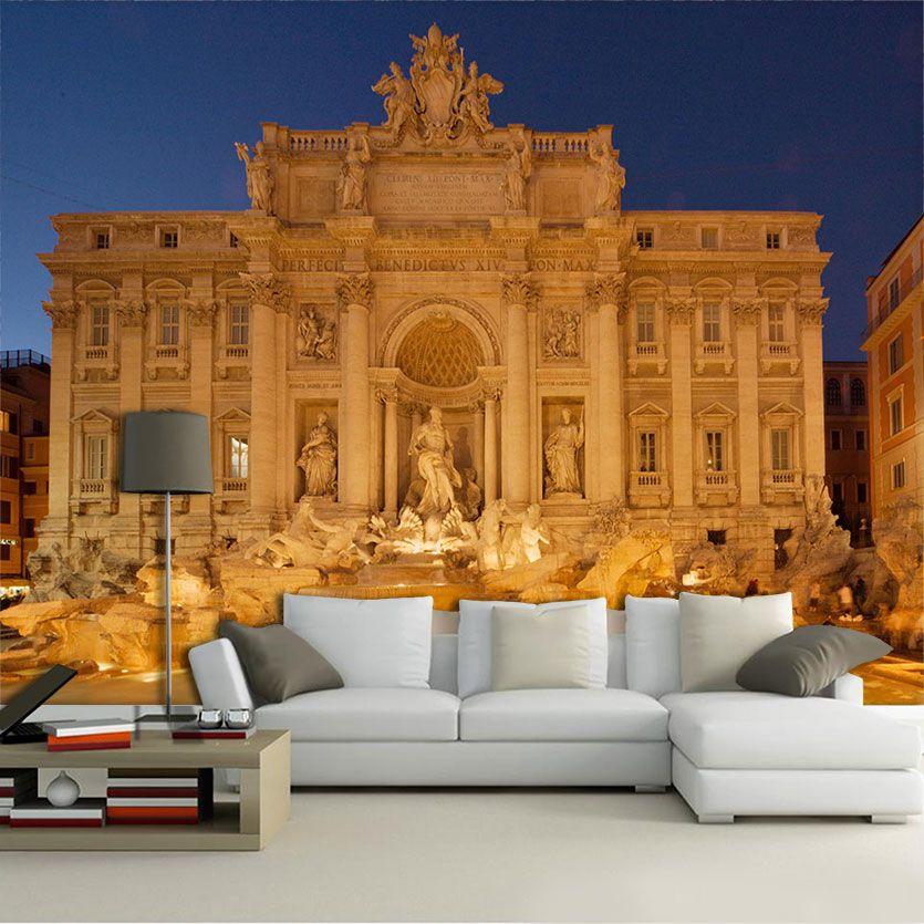 Papel De Parede 3D | Cidades Itália 0009 - Adesivo de Parede  - Paredes Decoradas