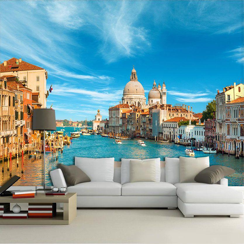 Papel De Parede 3D | Cidades Itália 0010 - Adesivo de Parede