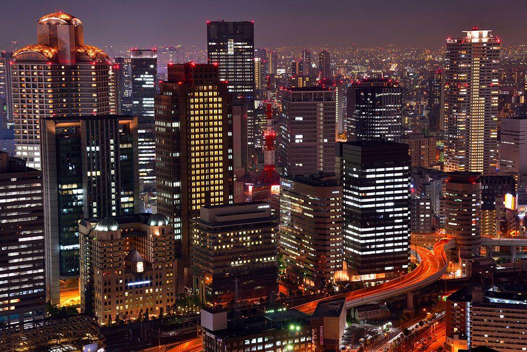 Papel De Parede 3D | Cidades Japão 0007 - Papel de Parede  - Paredes Decoradas