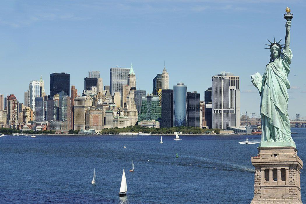Papel De Parede 3D | Cidades Nova York 0001 - Papel e Parede  - Paredes Decoradas