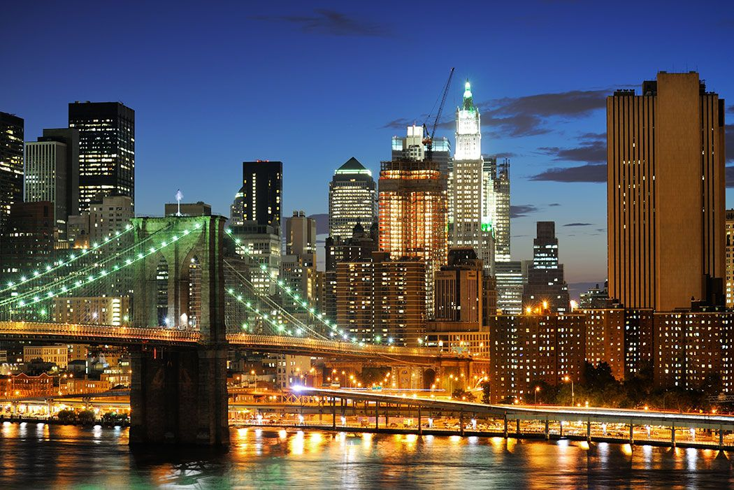 Papel De Parede 3D | Cidades Nova York 0002 - Papel e Parede  - Paredes Decoradas