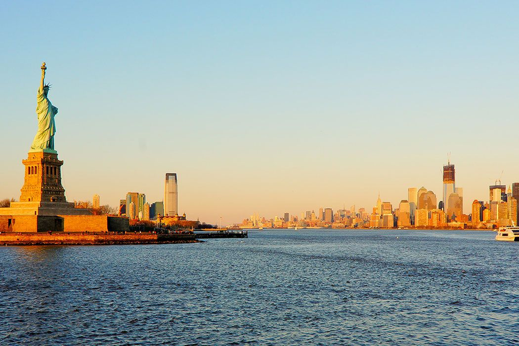 Papel De Parede 3D | Cidades Nova York 0004 - Adesivo de Parede  - Paredes Decoradas