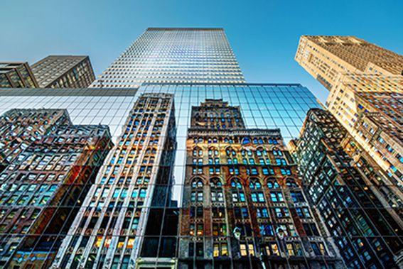 Papel De Parede 3D   Cidades Nova York 0005 - Adesivo de Parede  - Paredes Decoradas