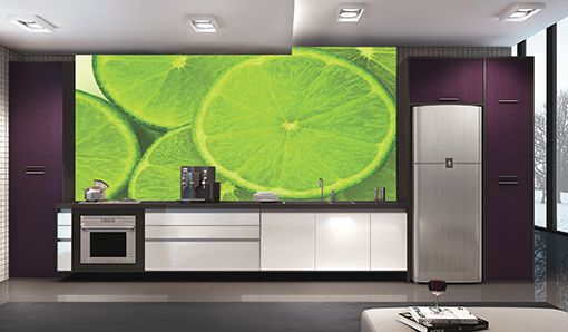 Papel De Parede Para Cozinha 0001 - Sobmedida: m²