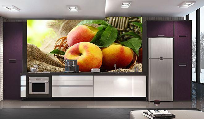 Papel De Parede Para Cozinha 0006 - Sobmedida: m²   - Paredes Decoradas
