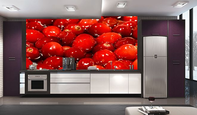 Papel De Parede Para Cozinha 0010 - Sobmedida: m²   - Paredes Decoradas