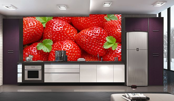 Papel De Parede Para Cozinha 0013 - Sobmedida: m²   - Paredes Decoradas
