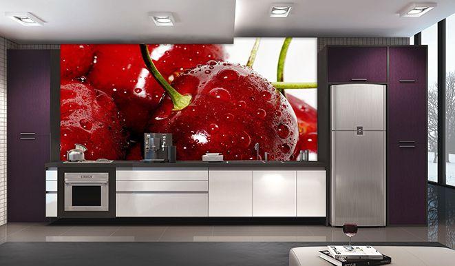 Papel De Parede Para Cozinha 0015 - Sobmedida: m²